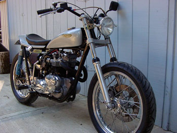 Banke Performance - Gallery, Triumph Street Tracker